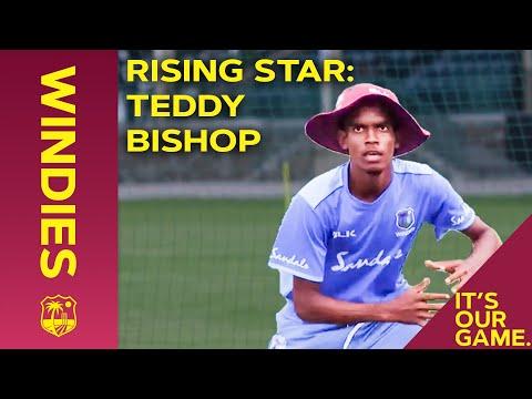 Meet Teddy Bishop | West Indies Rising Star