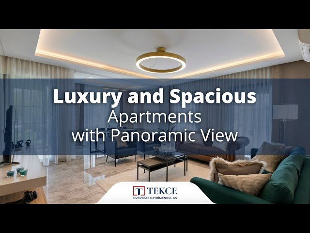 Luxurious Apartments with High Ceiling in Kepez Antalya