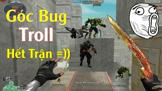 Góc BUG Troll Hết Trận Siêu Hài Zombie Escape - Rùa Ngáo