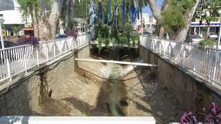 preview picture of video 'נהריה - נהר הגעתון........הרחוב הראשי של העיר'