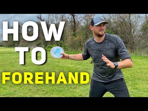 Hvordan kaste en forehand