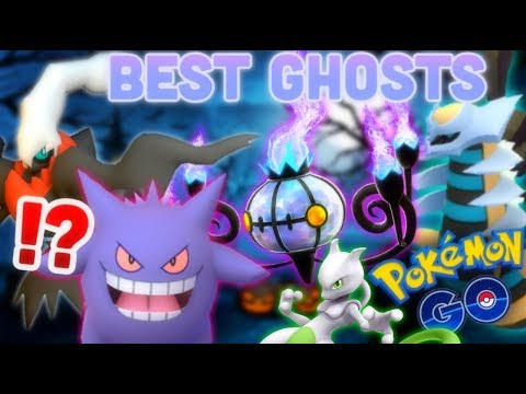Best Ghost types in Pokemon GO | Chandelure VS Gengar DPS+TDO test | Darkrai best Shadow Ball user?