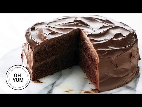 Video Classic Devil's Food Cake Recipe | Oh Yum with Anna Olson