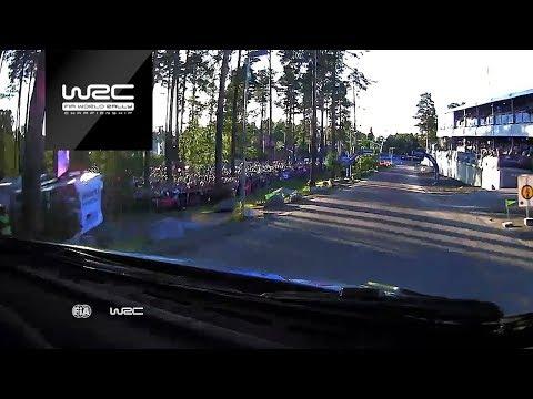 WRC - Neste Rally Finland 2017: ONBOARD Ogier SS01