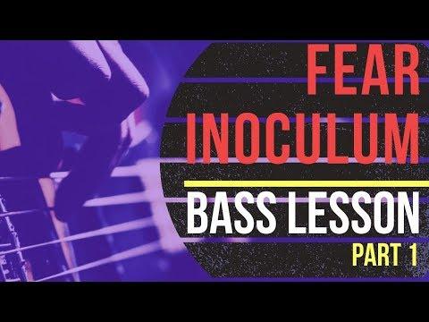 "TOOL ""Fear Inoculum"" BASS LESSON"