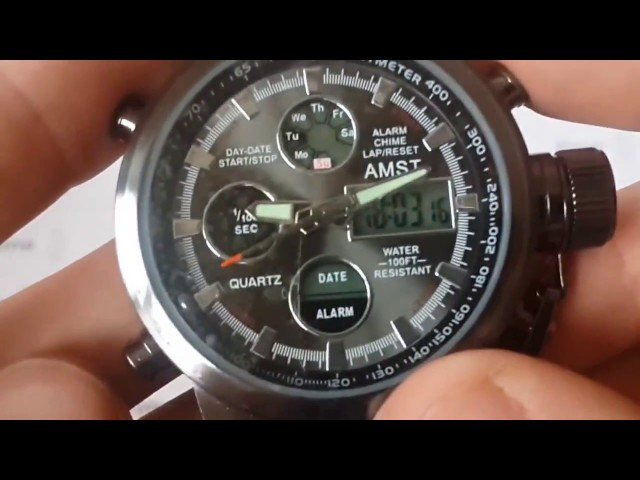 Видео часы AMST