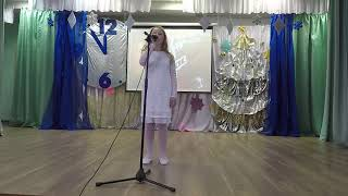 """Ева Калтыгина с песней """"Аллилуйя"""" на конкурсе «Голос. Дети». Финал"""