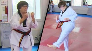 79-Year-Old Grandma Works Towards Her Black Belt