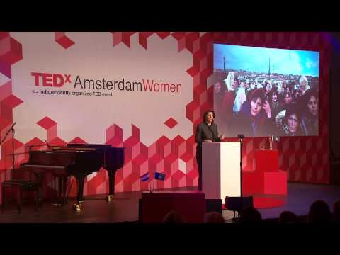 Her Excellency Madam Atifete Jahjaga of Kosovo at TEDxAmsterdamWomen 2013