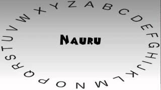 How to Say or Pronounce Nauru