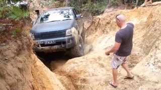 Glasshouse Mountains Little Red 4x4 Ford Ranger PX