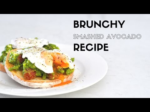 Smashed Avocado Recipe | Poached Eggs & Feta | Brunch