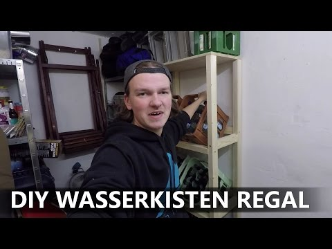 DIY WASSERKISTEN REGAL