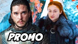 Game Of Thrones Season 8 Promo - Jon Snow Explained by Kit Harington