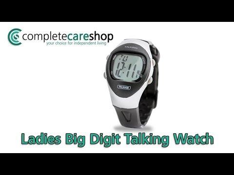 Ladies Big Digit Talking Watch