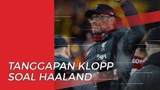 Tanggapan Juergen Klopp terkait Erling Haaland Batal ke Manchester United