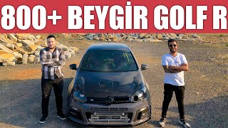 800+ Beygir Gücünde VW Golf R