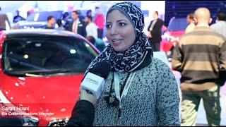 سارة حسني مديرة الإتصالات التسويقية في كيا