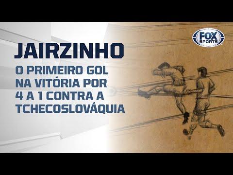 #FoxSports50AnosDoTri - O gol de Jairzinho na vitória por 4 a 1 contra a Tchecoslováquia