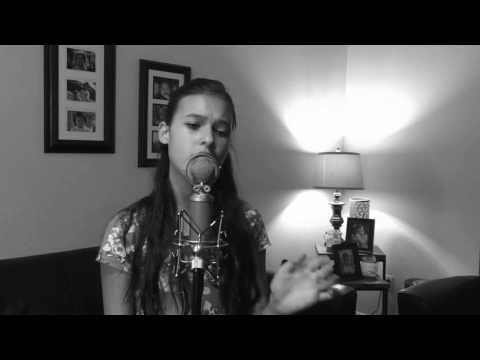 Vivianna doing a cover by Ariana Grande