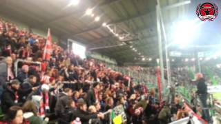 preview picture of video 'Rb Leipzig vs. Greuther Fürth - Away Support @ Trolli Arena (12.12.2014)'
