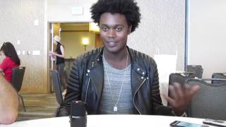 "Сериал ""Стрела"", Echo Kellum for Arrow at SDCC 2016"