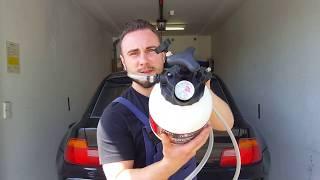 Bremsflüssigkeit wechseln mit Überdruck ohne Strom   Bremsflüssigkeitswechsel   BMW Z3