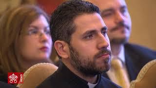 Papa Francesco Udienza Pontifico Collegio Maronita Videonews 2018-02-16
