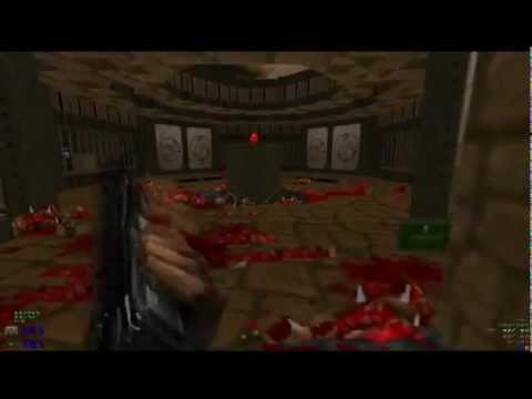Doom2 No Rest For The Living Final Boss Nightmare