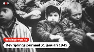 Kinderen als proefkonijn in Auschwitz   Bevrijdingsjournaal   31 januari 1945