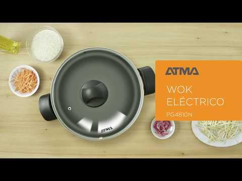 Wok eléctrico | ATMA.