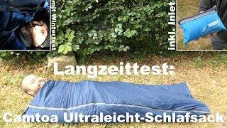 Review: Camtoa Ultraleicht-Schlafsack