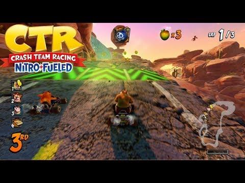 Crash Team Racing Nitro Fueled – Dingo Canyon FULL RACE GAMEPLAY!