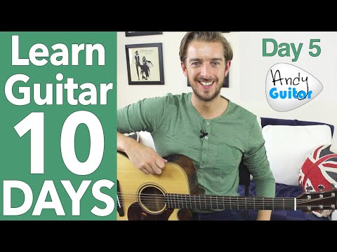 Guitar Lesson 5 - 'Ooh La la' Rod Stewart & NEW Melody! [10 Day Guitar Course ]
