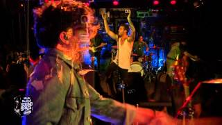 "American Authors perform ""Believer"" in the KROQ Red Bull Soundspace"