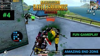 [Hindi] PUBG MOBILE | AMAZING SOLO VS SQUAD SITUATION IN THE END ZONE CLUTCH