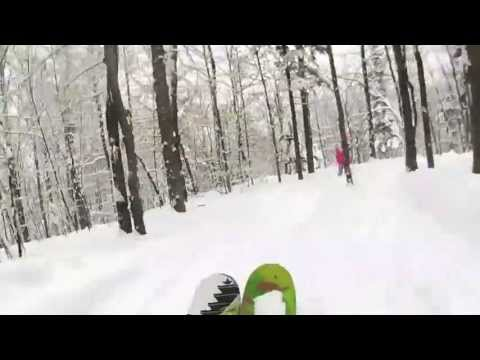 """Youtube preview image for 30"""" of Fresh Powder - December 2012"""