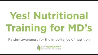 Raising Awareness for the Importance of Nutrition