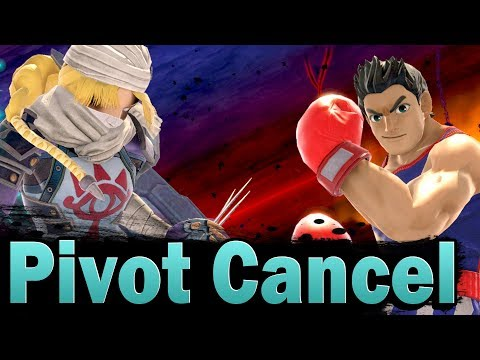 Smash Ultimate New Tech: Pivot Cancel
