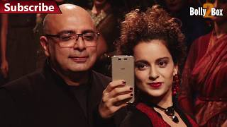 Tarun Tahiliani Touching Kangana Ranaut Ass