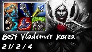 Best Vladimir Korea Top vs Yasuo   Korea High Elo