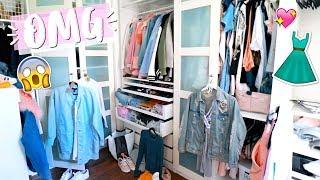 Omg Closet Disaster!! AlishaMarieVlogs