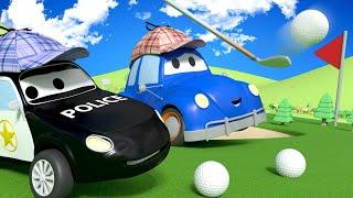 Policejní auta pro děti - Kdo rozbil okno? Město Aut!