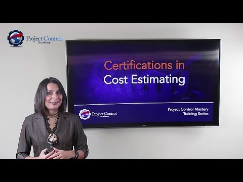 Certifications in Cost Estimating - YouTube