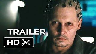 Transcendence Official Trailer 1 2014  Johnny Depp SciFi Movie HD