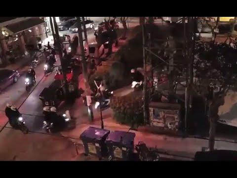 Harrowing images of a police junta imposed in Greece (Petralona)