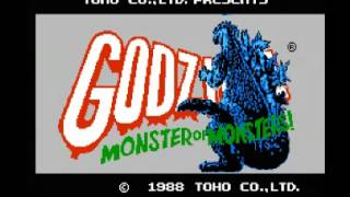 Godzilla - Monster of Monsters! (NES) Music - Unknown Theme B