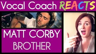 Vocal Coach Reacts to Matt Corby Brother on Triple J Radio