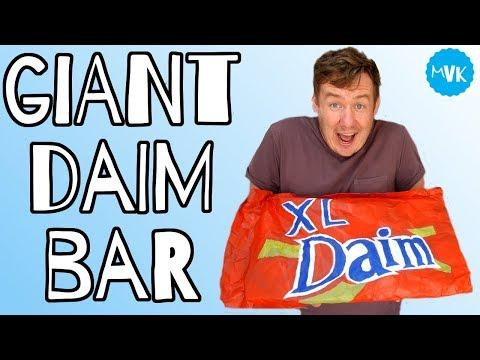 GIANT DAIM BAR RECIPE