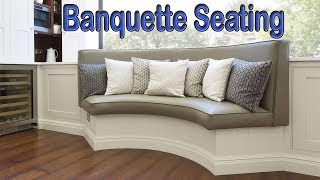 25 Banquette Seating Ideas For Your Home | Kitchen Banquette Seating
